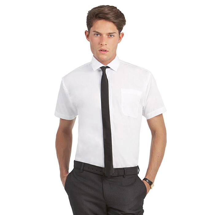 a9dbdeca99d9 Camicia Uomo B&C Smart Manica Corta | ZIPP Ricami