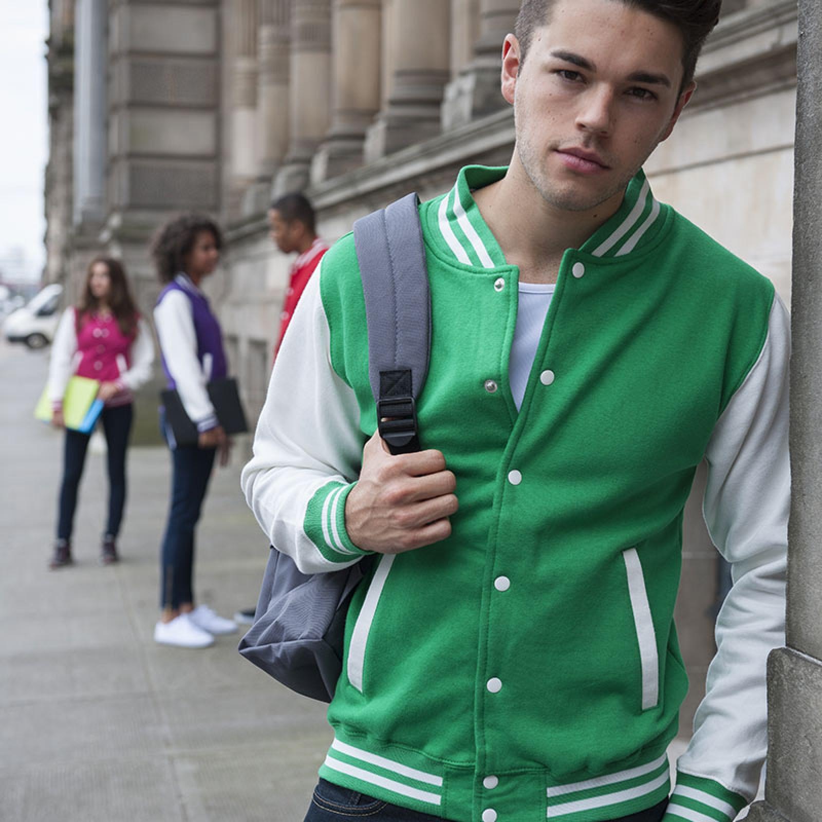Felpa College Varsity Jacket