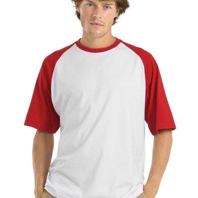 T-Shirt Baseball 185 gr. – 12 pezzi a partire da 9,90