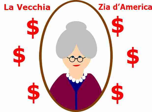 È tornata la vecchia Zia dall' America