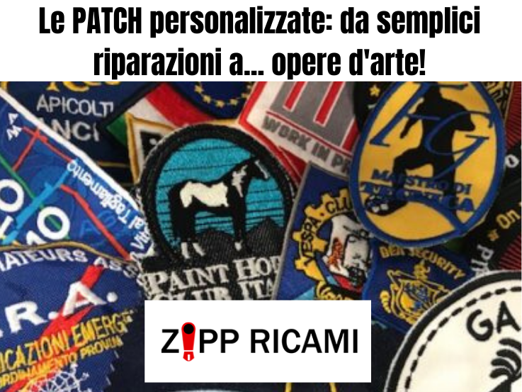 You are currently viewing Da semplici rattoppi a opere d'arte: Le toppe ricamate!